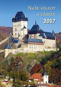 Kalendář nástěnný 2017 - Naše hrady a zámky