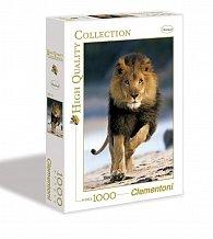 Puzzle Clementoni Běžící lev 1000 dílků