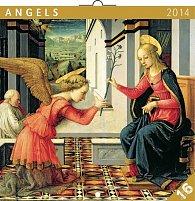 Kalendář 2014 - Andělé - nástěnný poznámkový (ANG, NĚM, FRA, ITA, ŠPA, HOL)
