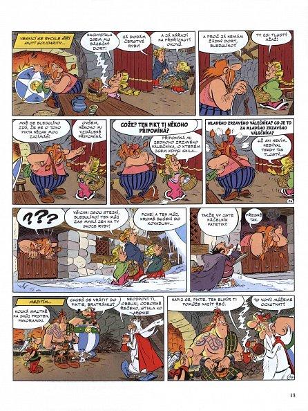 Náhled Asterix 35 - Asterix u Piktů