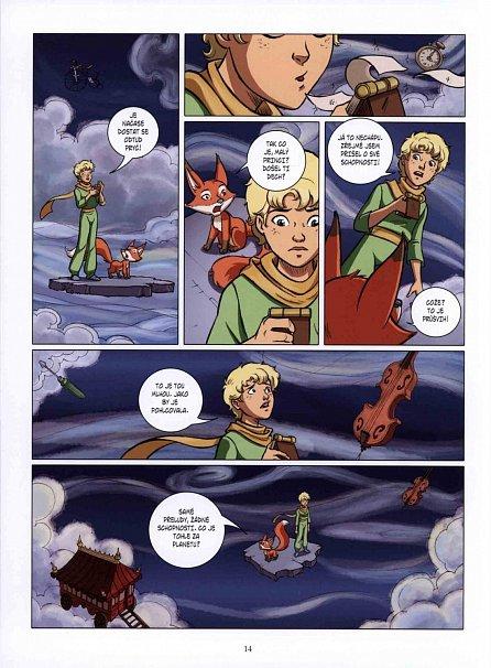 Náhled Malý princ a Hadova planeta