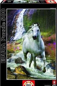 Puzzle Bílý kůń 500 dílků