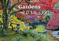 Kalendář nástěnný 2016 - Gardens 450x315