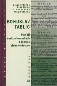 Pamäti česko-slovenských básnikov alebo veršovcov
