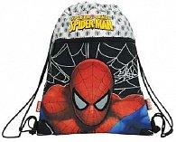 Taška na přezůvky Spiderman černo/stříbrný