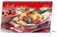 Kalendář 2013 stolní - Sladké recepty, 23,1 x 14,5 cm
