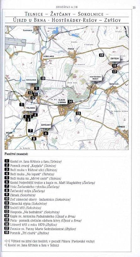 """Náhled Slavkovské bojiště - Průvodce po krajině bitvy """"tří císařů"""""""