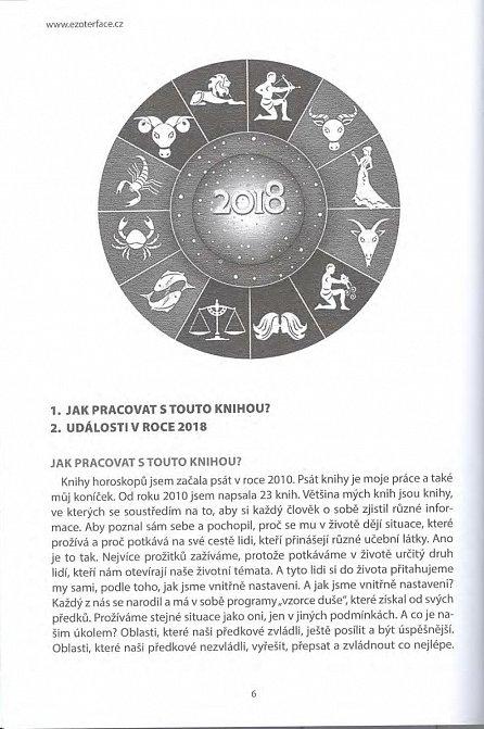 Náhled Horoskopy na rok 2018 - Váš osobní deník na rok 2018