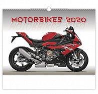 Kalendář nástěnný 2020 - Motorbikes