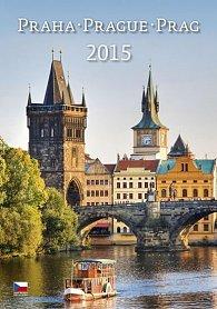 Kalendář nástěnný 2015 - Praha