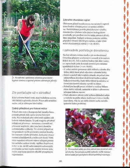 Náhled Biozahradničení - Zeleninová, ovocná a bylinková zahrada od jara do zimy