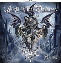 Kalendář 2013 poznámkový - Light in the Darkness (Gothic), 30 x 60 cm
