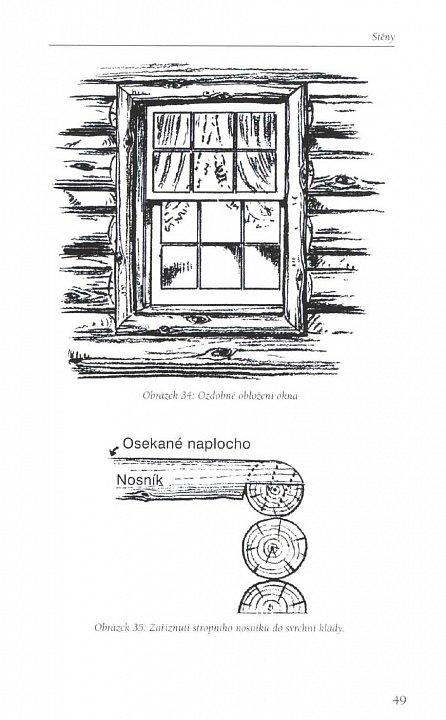 Náhled Jak postavit a vybavit srub - Jednoduchý a přírodní způsob stavby s použitím ručních