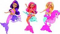 Barbie mini mořská panna se zvířátkem