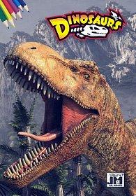 Dinosaurs - Omalovánky A5