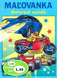 Maľovanka Motorové vozidlá