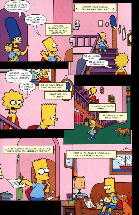 Náhled Simpsonovi - Bart Simpson 9/2016 - Vzor všech