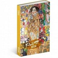 Diář 2016 - Gustav Klimt,  10,5 x 15,8 cm