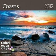 Kalendář nástěnný 2012 - Coasts