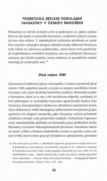 Náhled Anatomie pocitu úžasu - Česká populární fantastika 1990-2012 v kontextu kulturním, sociálním a literárním