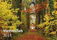 Kalendář 2014 - Memories - nástěnný