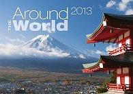 Kalendář nástěnný 2013 - Around the world