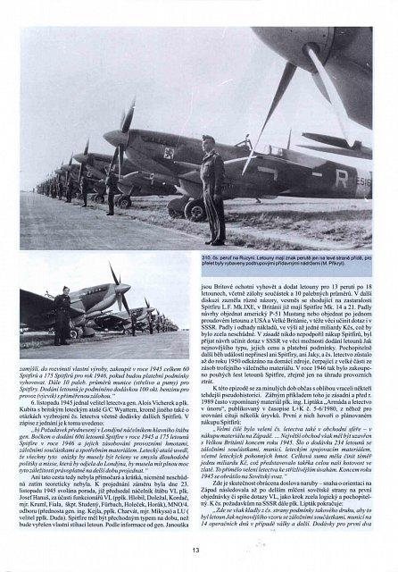 Náhled Spitfajr - Supermarine Spitfire L.F.Mk. IXE v československém letectvu