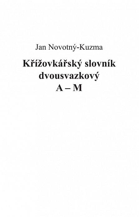 Náhled Křížovkářský slovník dvousvazkový