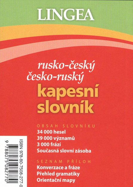 Náhled Rusko-český, česko-ruský kapesní slovník ...nejen na cesty