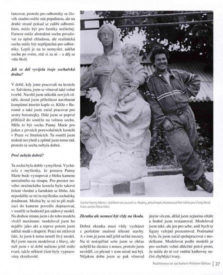 Náhled Kámen jsem dostal darem - Rozhovory se sochařem Petrem Váňou