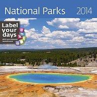 Kalendář 2014 - National Parks - nástěnný 300x300