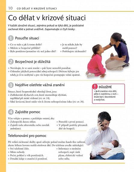 Náhled Domácí první pomoc dětem