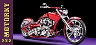 Kalendář 2012 - Motorky - stolní