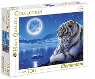 Puzzle 500 dílků Tygři