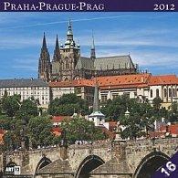 Kalendář nástěnný 2012 - Praha, 30 x 60 cm