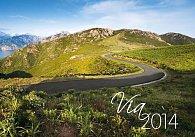 Kalendář 2014 - Via - nástěnný