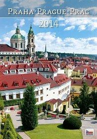 Kalendář 2014 - Praha - nástěnný