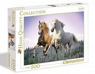 Puzzle 500 dílků Koně