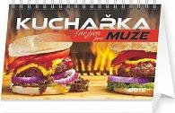 Kalendář 2015 - Kuchařka (ne)jen pro muže - stolní