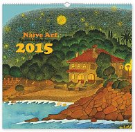 Kalendář 2015 - Naivní umění Kateřina Miler - nástěnný s prodlouženými zády