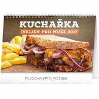 Kalendář stolní 2017 - Kuchařka (ne)jen pro muže