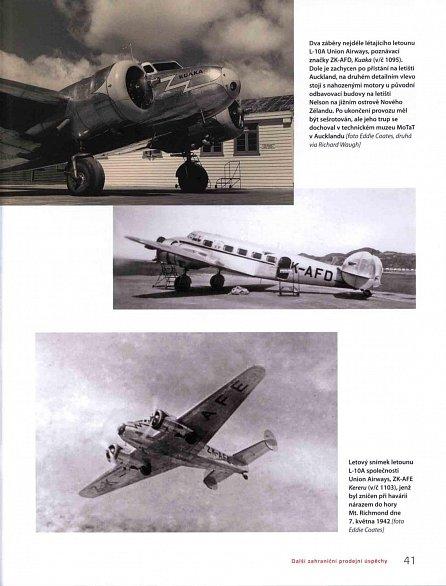 Náhled Lockheed L-10 Electra - Historie významného typu letounu a jeho návrat na české nebe