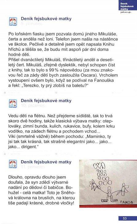 Náhled Deník fejsbukové matky pokračuje ...
