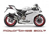 Kalendář nástěnný 2017 - Motorbikes