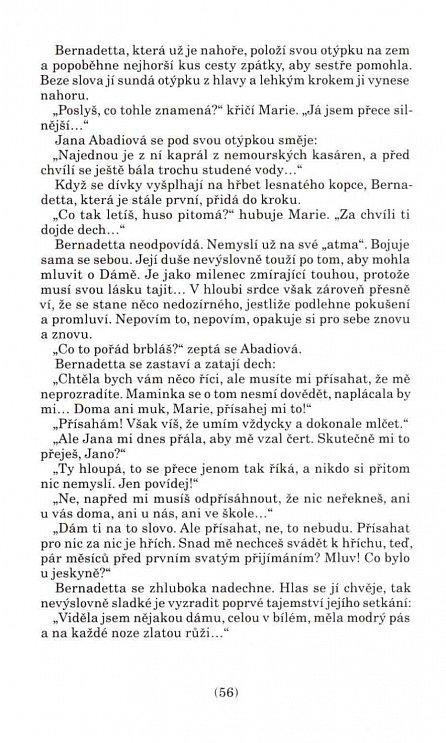 Náhled Píseň o Bernadettě
