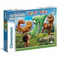 Puzzle Supercolor 60 dílků Hodný dinosaur