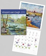 Vincent van Gogh - nástěnný kalendář 2013