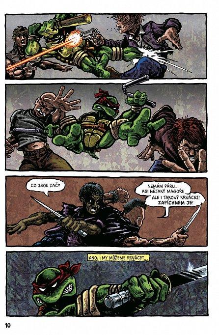 Náhled Želvy Ninja - Menu číslo 1