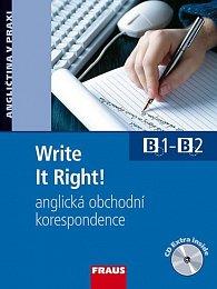 Write It Right! anglická obchodní korespondence učebnice+ CD