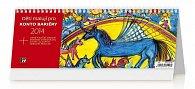 Kalendář 2014 - Děti malují pro Konto Bariéry - stolní